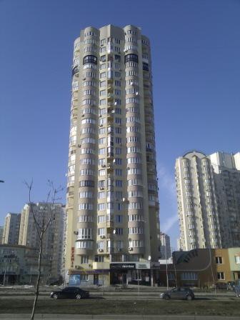 indoor реклама в элитных домах Киева на Осокорках