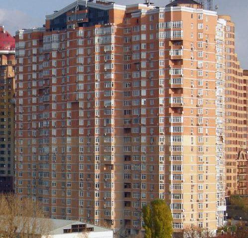 реклама в самых больших домах Киева